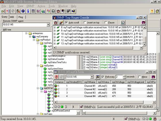 Mib2mp - SNMP network monitoring MIB Browser for SCOM
